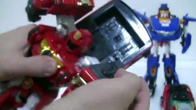 đồ chơi Siêu Nhân Cơ Động Tập 파워레인저 엔진포스 엔진킹 자동차 변신 장난감 또봇R 카봇 그랜져 Power rangers Go Ongers Toys