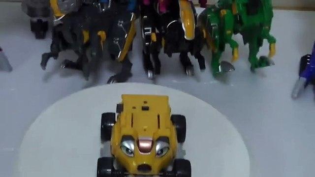 파워레인저 엔진포스 베아르 장난감 회전소개 đồ chơi Siêu Nhân Cơ Động Tập Power rangers Go Ongers Toys