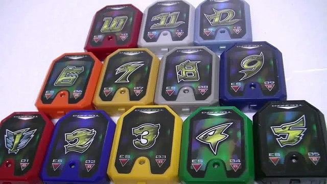 đồ chơi Siêu Nhân Cơ Động Tập 파워레인저 엔진포스 1 ~ 12 번 엔진소울 장난감 작동음  Power Rangers Go Ongers Toys