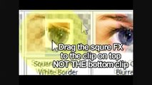 How to blend 2 clips on sony vegas