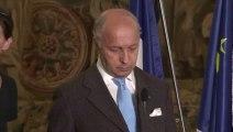 Laurent Fabius fait un malaise lors d'une visite officielle à Prague