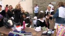 Finistère : 110e grande parade des Filets Bleus à Concarneau