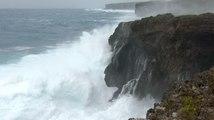 Le typhon Goni s'approche des côtes japonaises