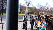 PM Shri Namrenda Modis welcome in the city of Hannover, Germany