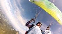 Frontklapper Hochries Samerberg Ozone Buzz Z4 Gleitschirm Paraglider