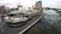 Salford quays the Lowry & Imperial War Museum North
