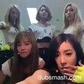 150705 KPOP IDOL DUBSMASH   SNSD Yoona, Sooyoung, Taeyeon, Tiffany, Yuri