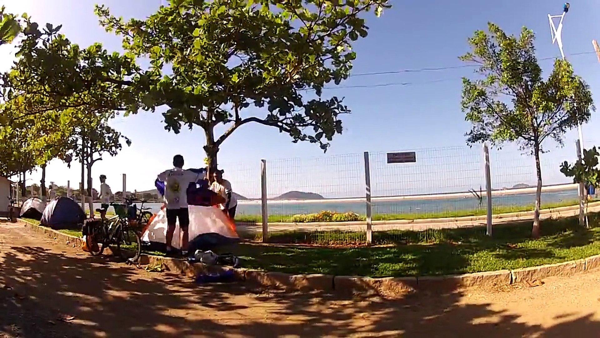 Cicloturismo Curitiba a Floripa pelo Litoral 2013 - 750km