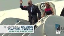 Looks Like Joe Biden Is Actually Running For President