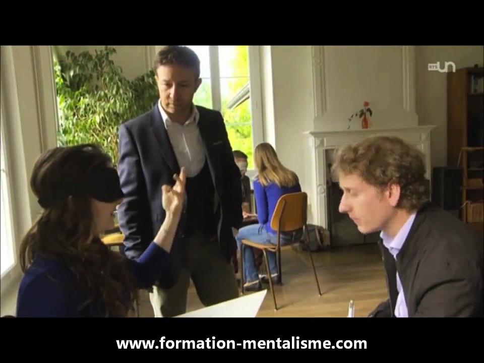 Reportage : Formation Pascal de Clermont en mentalisme et coaching mental sur RTS