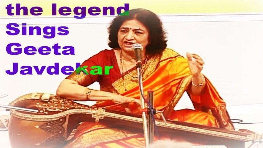 Geeta Javdekar - Varsha Utsav   Indian Classical Vocals   Epic Legendary Collection