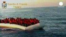 Italie: 213 immigrés clandestins sauvés