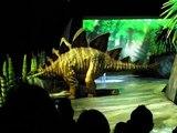 "Stegosaurus & Allosaurus at ""Walking With Dinosaurs"", Allstate Arena, Rosemont (Chicago) IL 8-1-2010"