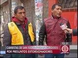 San Isidro: cambistas denuncian agresiones de extorsionadores