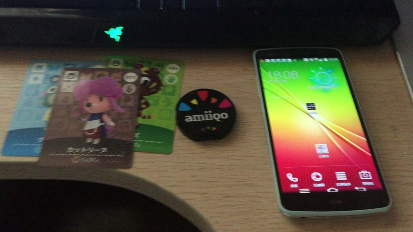 Amiiqo with Animal Crossing Amiibo cards