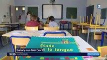 À Sanary-sur-Mer, les cours ont déjà repris
