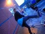 A sainsburys Trolley man attack!