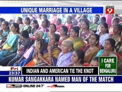 INDIAN AND AMERICAN TIE THE KNOT