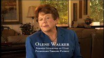 Utah Gov. Walker pulmonary fibrosis PSA