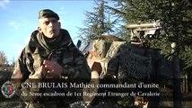 Control opérationnel du 5e escadron du 1er Régiment étranger de cavalerie
