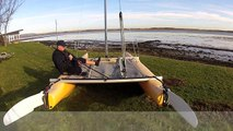 Gybe Multihull - RYA Training - Learn to Sail - Dinghy Sailing Techniques