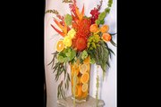 Flowers And Orange Arrangements By Everyday Flowers