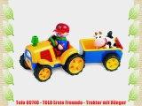 Tolo 89746 - TOLO Erste Freunde - Traktor mit H?nger