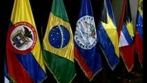 Encuentro entre Cristina Fernández y Dilma Rousseff Cumbre Presidentes América del Sud y Caribe