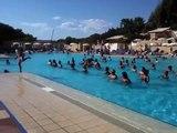 Aquagym fitness piscine au club med Kamarina Sicile