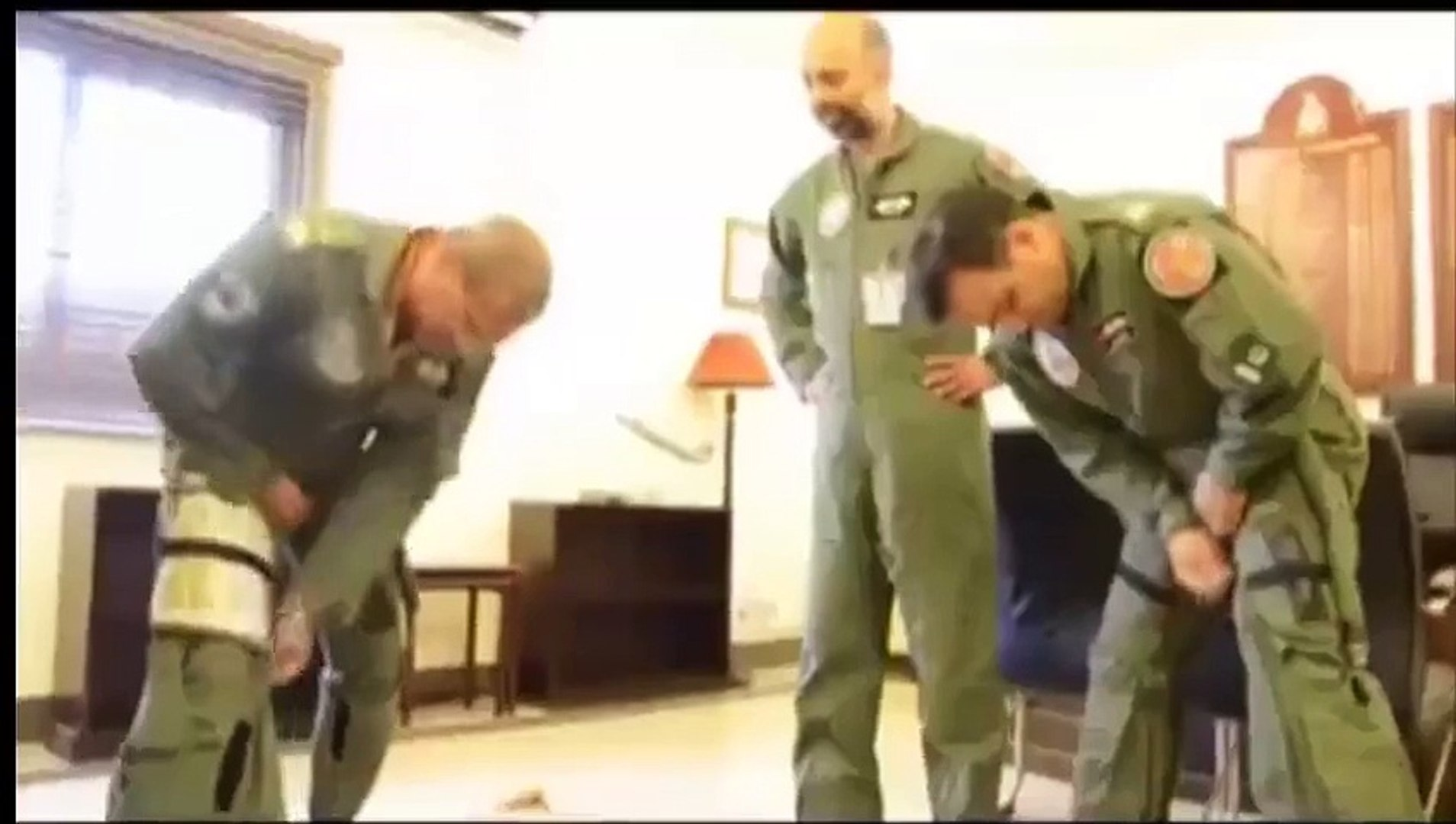 Exclusive Footage- Air Chief Leading the Air Strikes in #ZarbeAzb