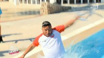 Les Anges : L'énorme chute de Kamel dans la piscine - ZAPPING TÉLÉ-RÉALITÉ DU 25/08/2015