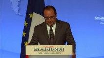 """Hollande:""""Nous devons nous préparer à d'autres assauts"""""""