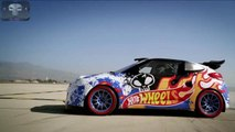 Extreme drift stunt in a Hot Wheel car !