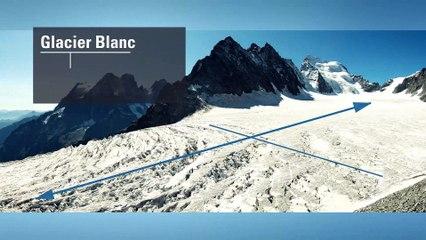 Et au milieu coule un glacier...
