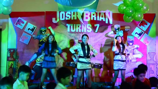 Josh Brian's Power Rangers 7th Birthday