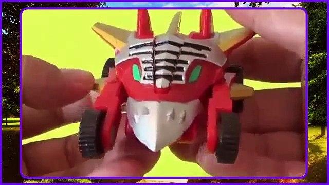 Power Rangers Ninja Megazord / Ninja Mega Falconzord Review (Toy Figure)