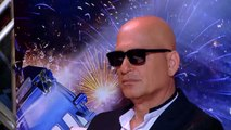 Heidi Klum Mel B Howie Mandel Play a Wax Figure Prank Americas Got Talent 2015