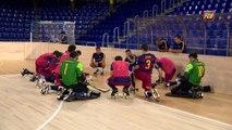 Resum amistós Barça Lassa (hoquei patins) - Tona 2015/2016 (ESP)