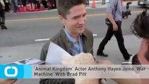 'Animal Kingdom' Actor Anthony Hayes Joins 'War Machine' With Brad Pitt
