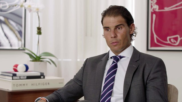 Rafa Nadal Spanish Interview