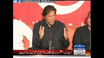Chairman PTI Imran Khan Press Conference On ECP's Reply To The 40 Points Judicial Commission Findings Letter Islamabad 23 August 2015.