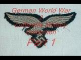 German WWII World War Two WW2 Luftwaffe Military Collection Militaria WWll  Part 1