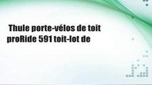 Thule porte-vélos de toit proRide 591 toit-lot de