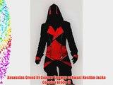 Assassins Creed III Connor Kenway schwarz Kost?m Jacke Cosplay Gr??e M(H?he 168-172 cm Brust