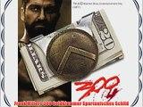 Frank Millers 300 Geldklammer Spartanisches Schild