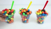 M&M's Cups with Surprise Toys Mickey Mouse Disney Toys Marvel Heroes My Little Pony Toy Videos