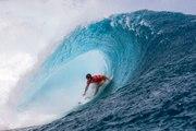 Le Français Jérémy Florès remporte une épreuve du championnat du monde de surf