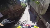 Marcelo Gutierrez's High-Speed Urban Downhill Crash In Taxco...
