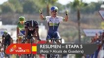 Resumen - Etapa 5 (Rota / Alcalá de Guadaíra) - La Vuelta a España 2015