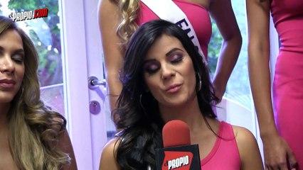 Las candidatas de Nuestra Belleza Venezuela le dieron su visitadita a El Propio